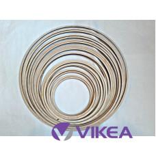 Drevený kruh na lapač snov set 10-30cm