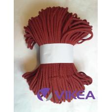 Šnúra bavlnená 5mm - medená