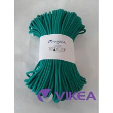 Šnúra bavlnená 3mm - smaragdová