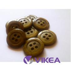 Gombík olivový 3 cm