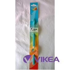 HÁČIK plastový VOGUE 6,5 mm