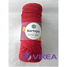 COTTON MIX 2128S - červená