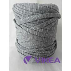 Tričkovlna šedý melír