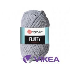 FLUFFY YarnArt 725 - holubia šedá