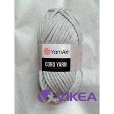 CORD YARN 756 - svetlošedá
