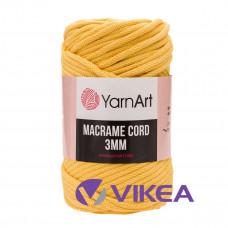 Macrame Cord 3mm 764 - žltá
