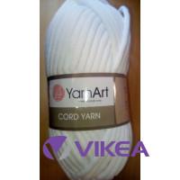 CORD YARN - biela