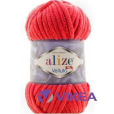 Alize Velluto 56 - červená