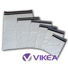 Biele plastové obalky od 17 do 50 cm
