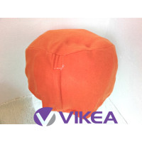VAK DO PUFU na zips 40x30cm - oranžová