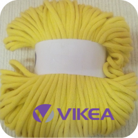 Bavlnená šnúra 9 mm lemon