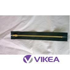 Zips čierny kov 16 cm